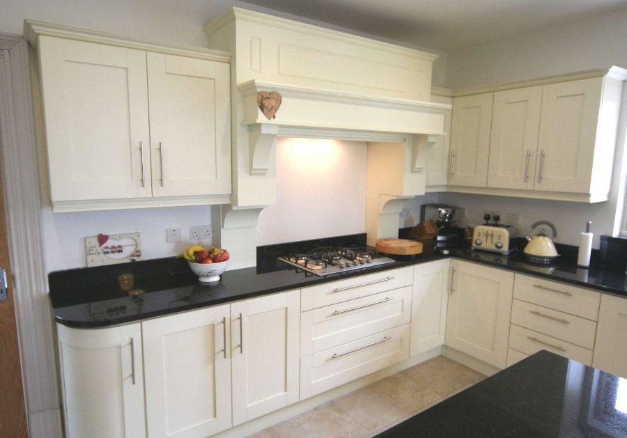 White Ivory Kitchen Worktop